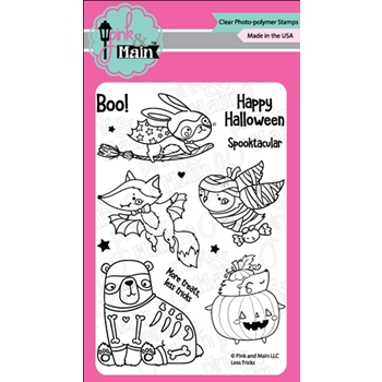 Pink and Main LESS TRICKS Clear Stamps PM0363