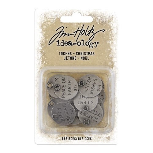 Tim Holtz Idea-ology CHRISTMAS Tokens th93997 Preview Image