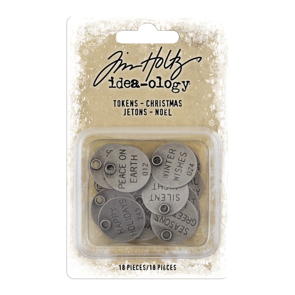 Tim Holtz Idea-ology CHRISTMAS Tokens th93997 zoom image