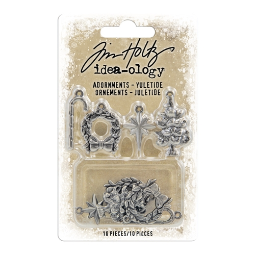 Tim Holtz Idea-ology YULETIDE Adornments th94008 Preview Image