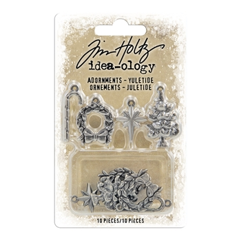 Tim Holtz Idea-ology YULETIDE Adornments th94008