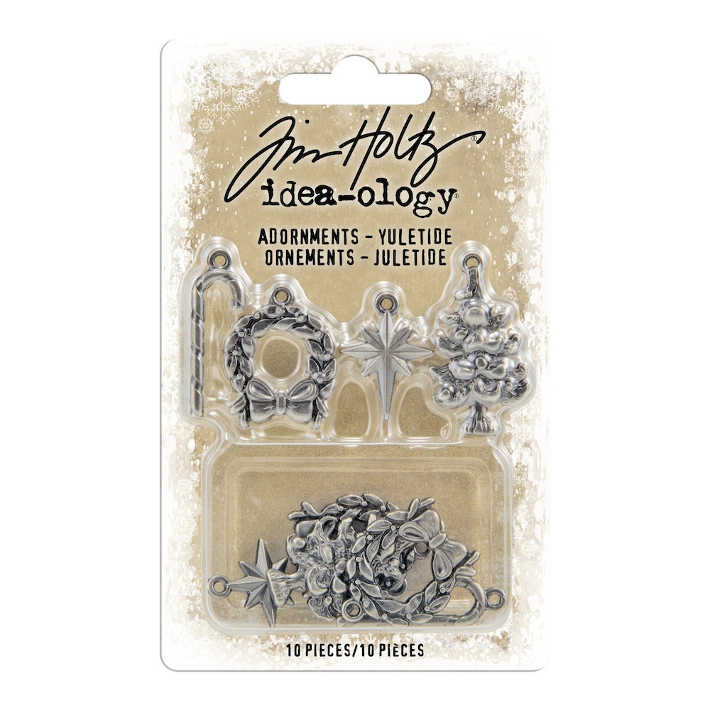 Tim Holtz Idea-ology YULETIDE Adornments th94008 zoom image