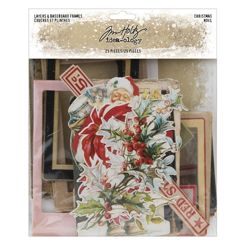 Tim Holtz Idea-ology CHRISTMAS Layers And Baseboard Frames th94017 Preview Image