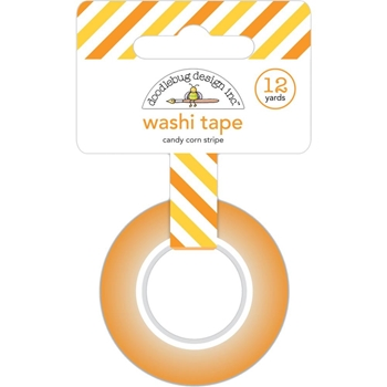 Doodlebug CANDY CORN STRIPE Washi Tape 6431 Carnival