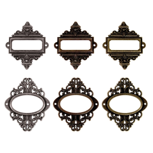 Tim Holtz Idea-ology ORNATE PLATES TH92787 Preview Image