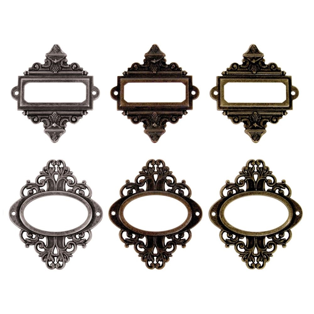 Tim Holtz Idea-ology ORNATE PLATES TH92787 zoom image