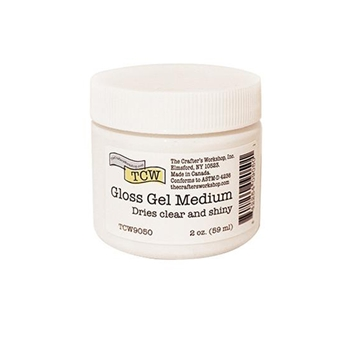 The Crafter's Workshop GLOSS GEL MEDIUM 2oz tcw9050