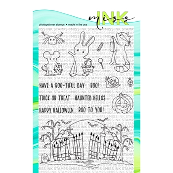 Miss Ink Stamps BOO CREW Clear Set 919st05