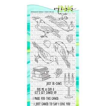 Miss Ink Stamps JUST BE-CLAWS Clear Set 919st03