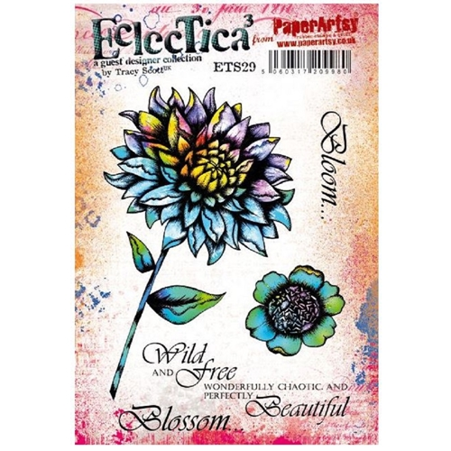 Paper Artsy ECLECTICA3 TRACY SCOTT 29 Cling Stamp ets29 Preview Image