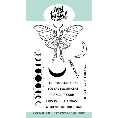 Neat and Tangled MOON MAGIC Clear Stamps NAT486 Preview Image