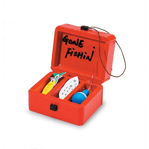 Darice MINI FISHING TACKLE BOX Timeless Minis 2314-02 Preview Image