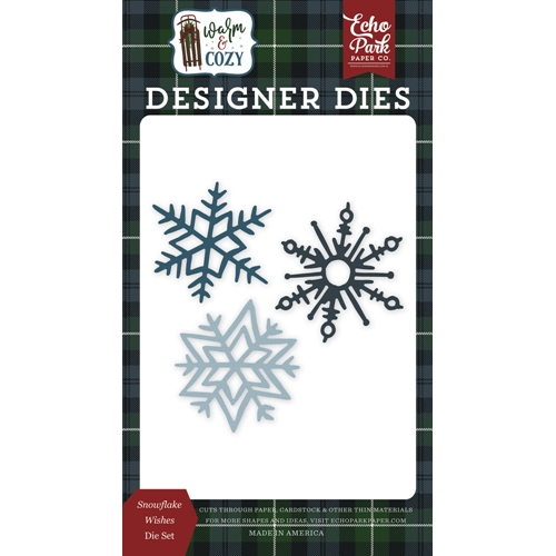 Echo Park SNOWFLAKE WISHES Die Set wc194040 Preview Image