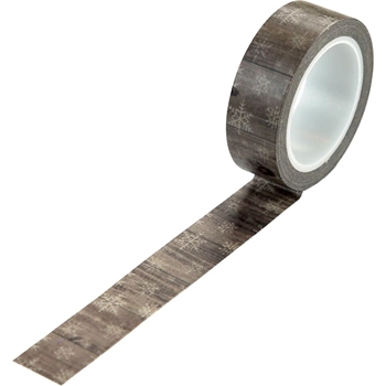 Echo Park WINTER WOODGRAIN Washi Tape wc194037