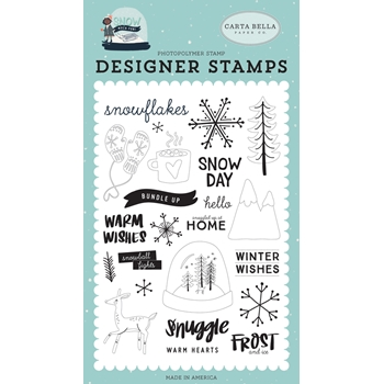 Carta Bella FROST AND ICE Clear Stamp Set cbsmf108043