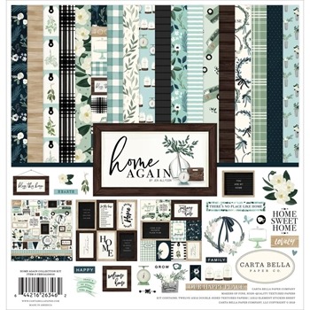 Carta Bella HOME AGAIN 12 x 12 Collection Kit cbhoa109016