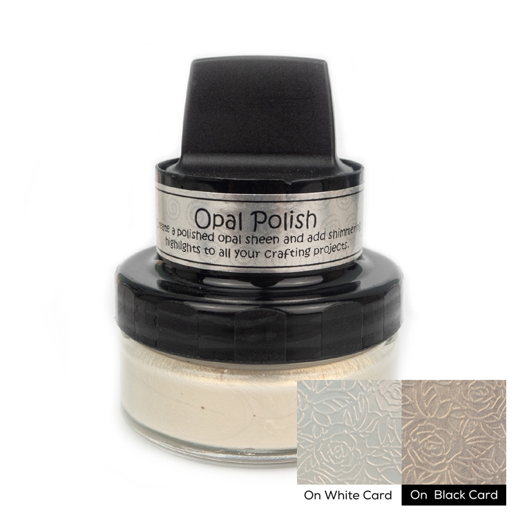 Cosmic Shimmer COPPER PEARL Opal Polish With Applicator csopcopp zoom image