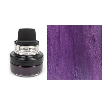 Cosmic Shimmer PLUMTASTIC Lustre Polish With Applicator csluplum