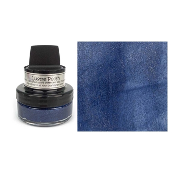 Cosmic Shimmer DAZZLING DENIM Lustre Polish With Applicator csludenim