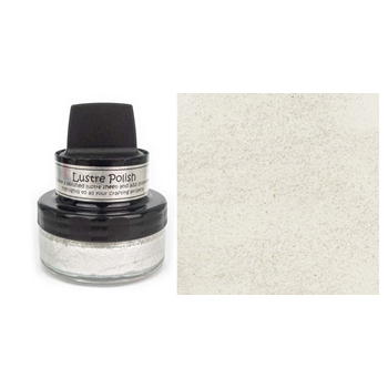 Cosmic Shimmer SNOW AND ICE Lustre Polish With Applicator cslusnow