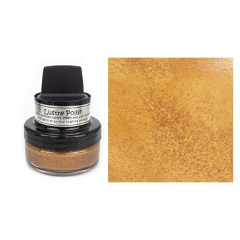 Cosmic Shimmer GLISTENING GOLD Lustre Polish With Applicator cslugold