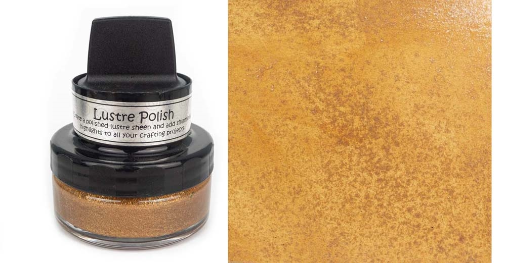 Cosmic Shimmer GLISTENING GOLD Lustre Polish With Applicator cslugold zoom image