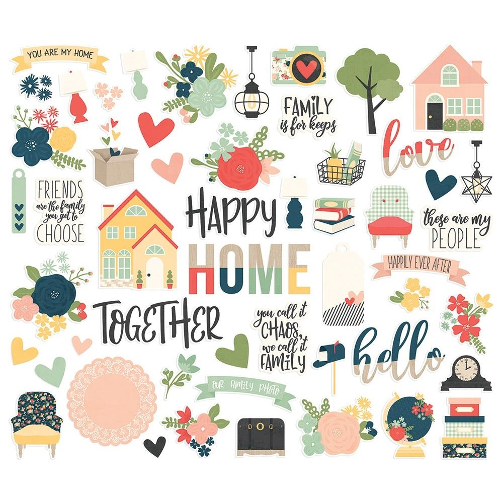 Simple Stories SO HAPPY TOGETHER Bits And Pieces 11715 zoom image