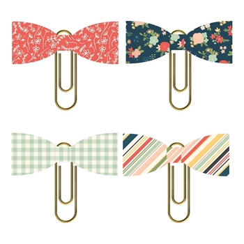 Simple Stories SO HAPPY TOGETHER Bow Clips 11718