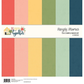 Simple Stories SO HAPPY TOGETHER 12 x 12 Basics Kit 11724