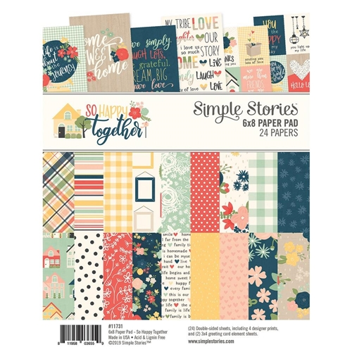 Simple Stories SO HAPPY TOGETHER 6 x 8 Paper Pad 11731 Preview Image