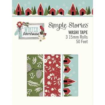 Simple Stories WINTER FARMHOUSE Washi Tape 11625