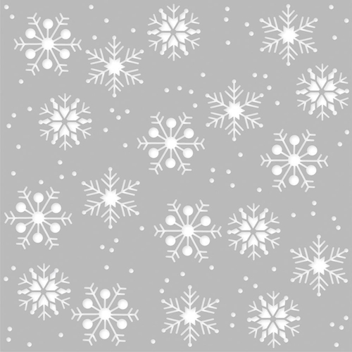 Simple Stories WINTER FARMHOUSE 6 x 6 Stencil 11628 Preview Image