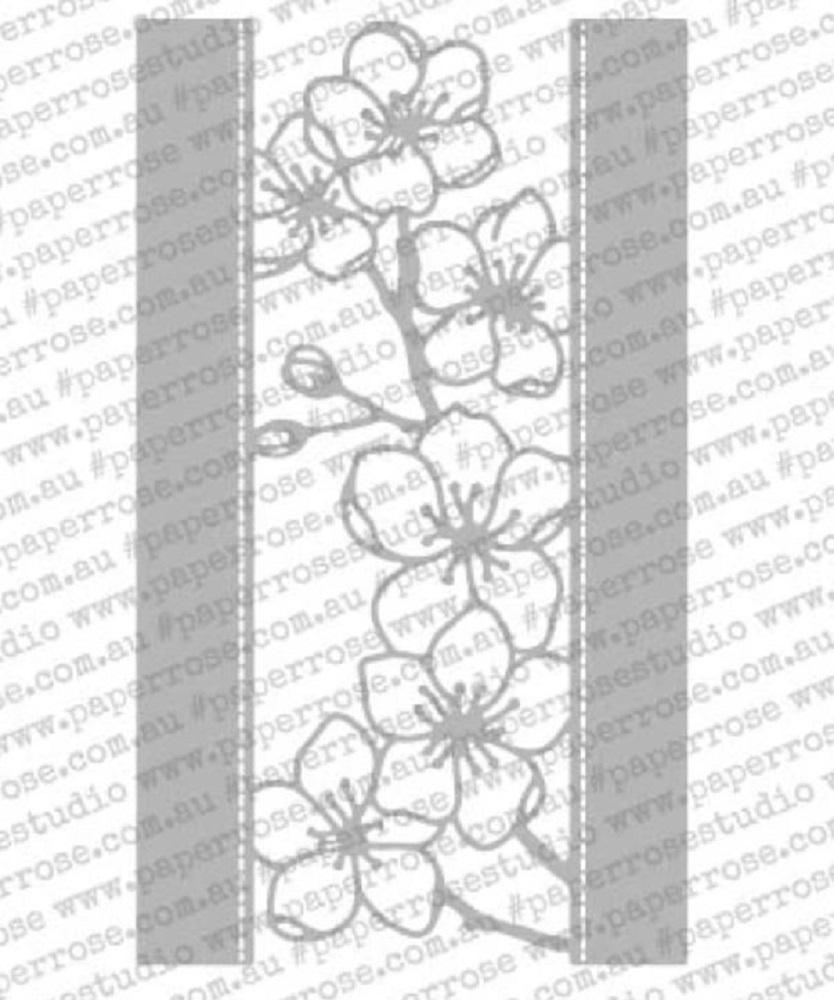 Paper Rose BLOSSOM BORDER Craft Die 18150 zoom image
