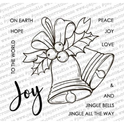 Paper Rose CHRISTMAS BELLS Clear Stamps 18339 Preview Image