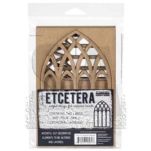 Tim Holtz Etcetera CATHEDRAL Thickboards ETC015 Preview Image