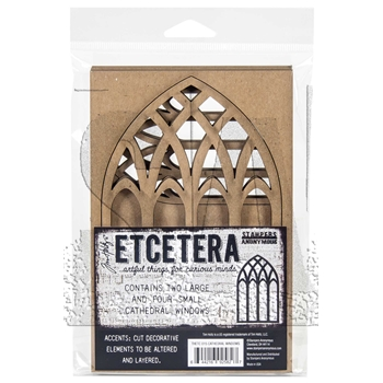 Tim Holtz Etcetera CATHEDRAL Thickboards ETC015