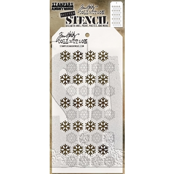 Tim Holtz Layering Stencil SHIFTER SNOWFLAKE THS135