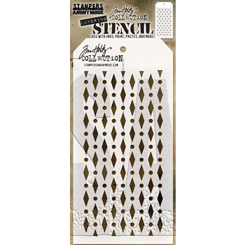 Tim Holtz Layering Stencil DIAMOND DOT THS133