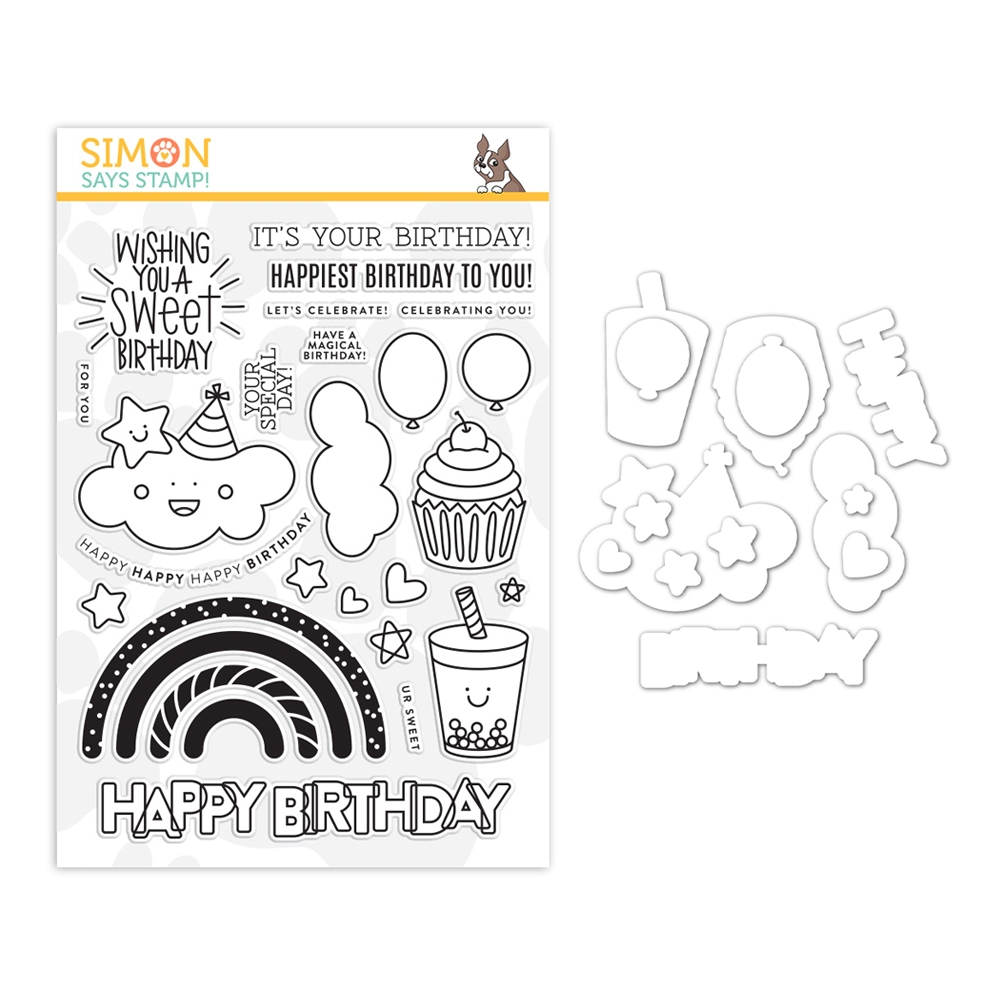 Simon Says Stamps and Dies SWEET BIRTHDAY set358sw  zoom image