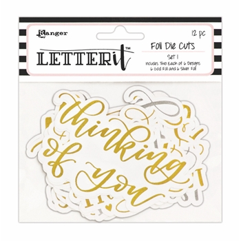 Ranger SET 1 Letter It Die Cuts lea68150