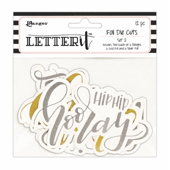 Ranger SET 2 Letter It Die Cuts lea68167