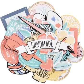 Kaisercraft CRAFTERNOON Collectables Die Cut Shapes CT972