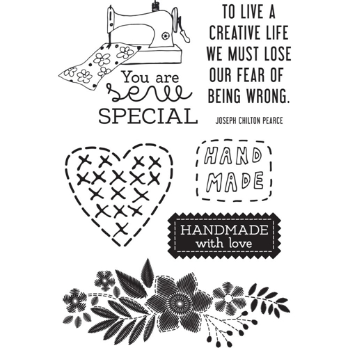 Kaisercraft CRAFTERNOON Clear Stamps CS369 Preview Image