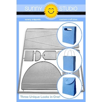 Sunny Studio SWEET TREAT BAG Dies SSDIE-172