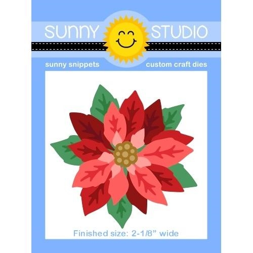 Sunny Studio LAYERED POINSETTIA Dies SSDIE-166 Preview Image