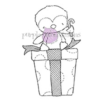 Purple Onion Designs MERRY Cling Stamp pod1144