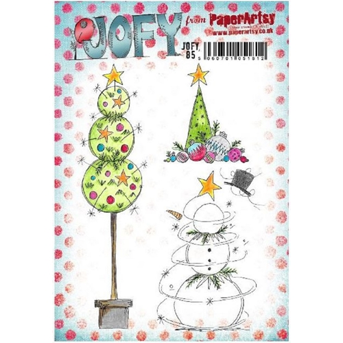 Paper Artsy JOFY 85 Cling Stamp jofy85 Preview Image