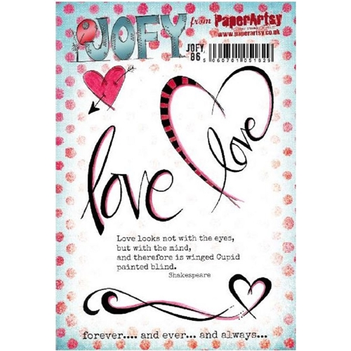 Paper Artsy JOFY 86 Cling Stamp jofy86 Preview Image