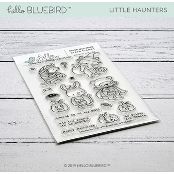 Hello Bluebird LITTLE HAUNTERS Clear Stamps hb2214