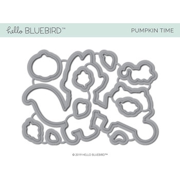 Hello Bluebird PUMPKIN TIME Die Set hb2219